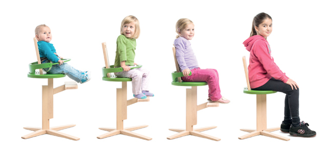 Kids Chair That Grows With Them Tum E Time